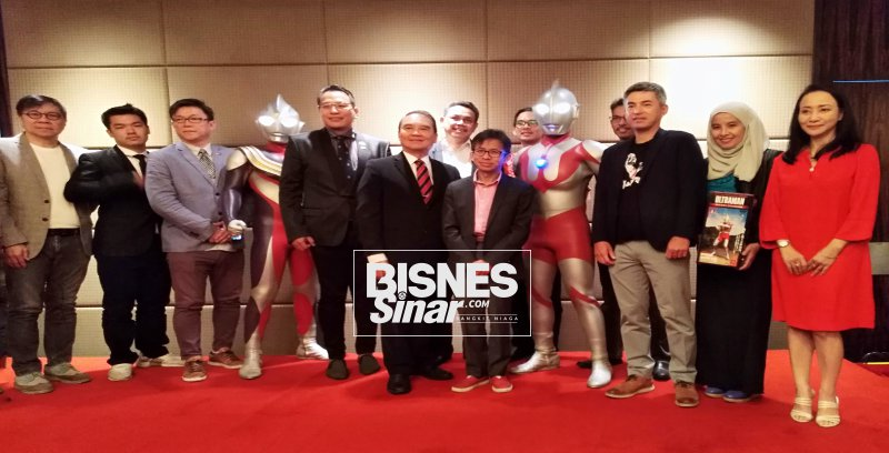 Pengembangan jenama Ultraman menerusi siri Ultraman Rossa dan Blu
