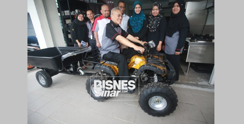 Kohijrah ATV bantu peladang tingkat pendapatan
