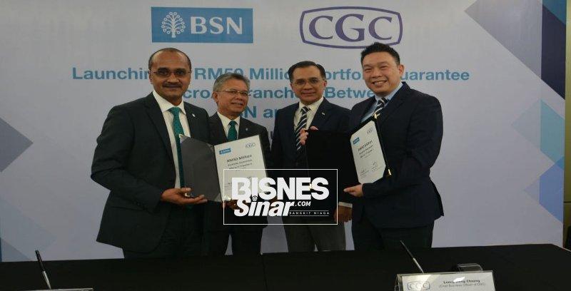 BSN, CGC berkolaboratif bantu usahawan mikro