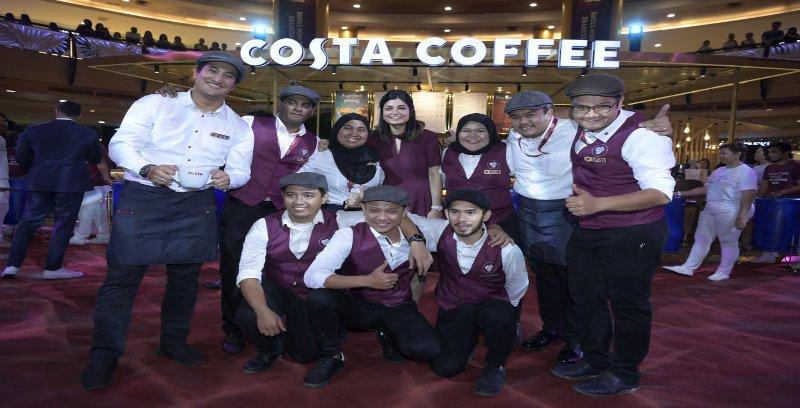 Nikmati kopi Costa Coffee secara percuma sehingga esok!