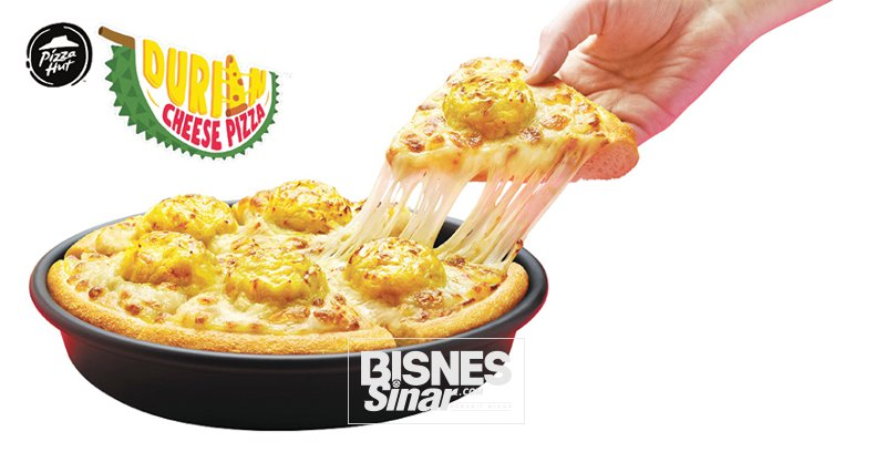 Pizza Hut perkenal Durian Cheese Pizza