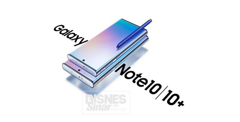 Samsung lancar Galaxy Note10