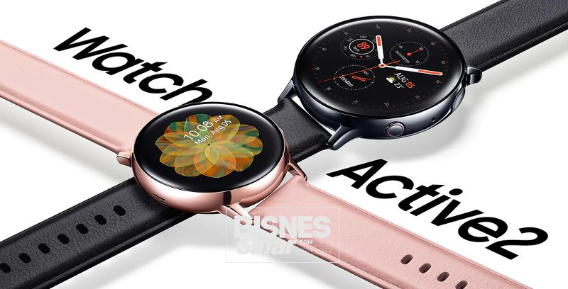 Samsung lancar jam Galaxy Watch Active2