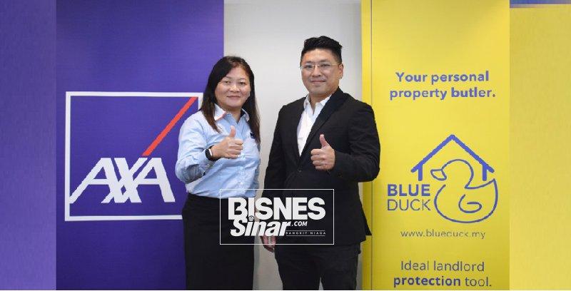 AXA bekerjasama dengan BlueDuck