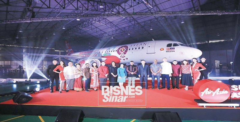 AirAsia lancar pesawat ASEAN Lestari