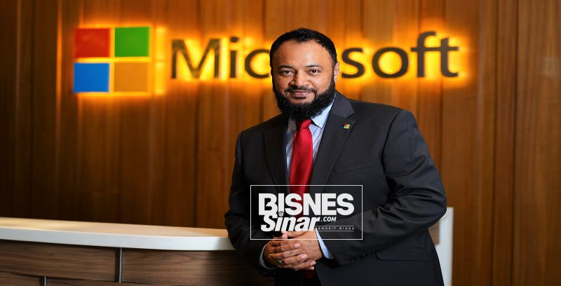 Microsoft lantik Sheikh Manzoor terajui sektor awam