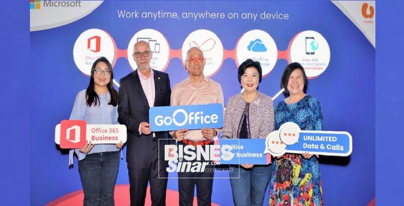 U Mobile teroka segmen perniagaan dengan GoOffice