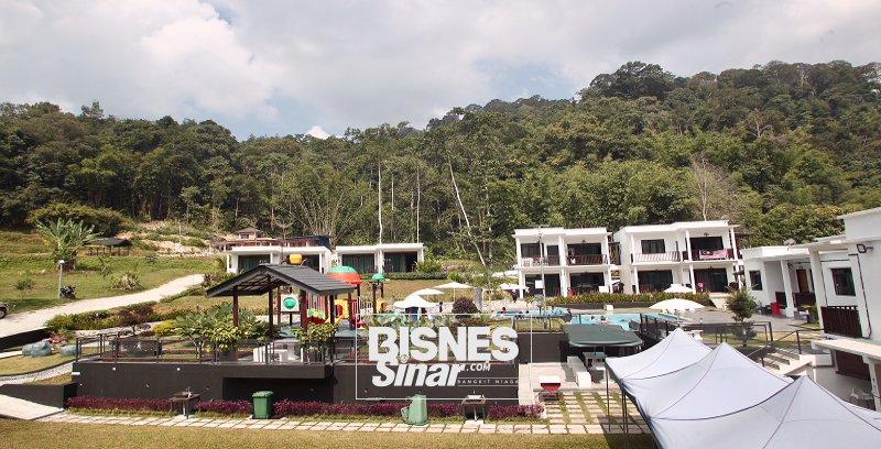 Dedaun Langat: Resort tampil konsep moden menjanjikan kedamaian