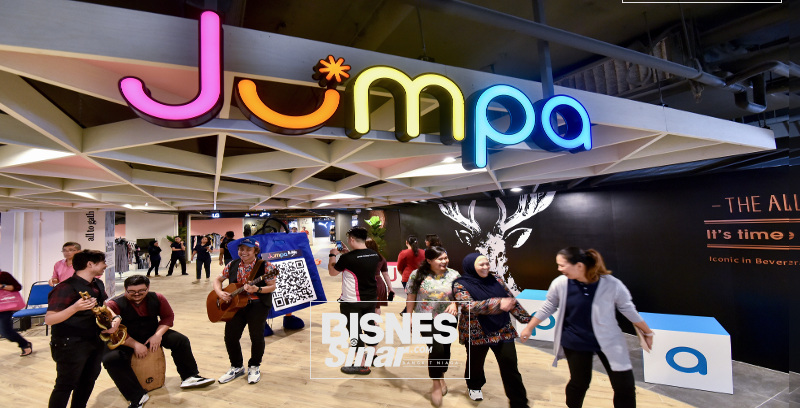 JUMPA @ Sungei Wang kini dibuka