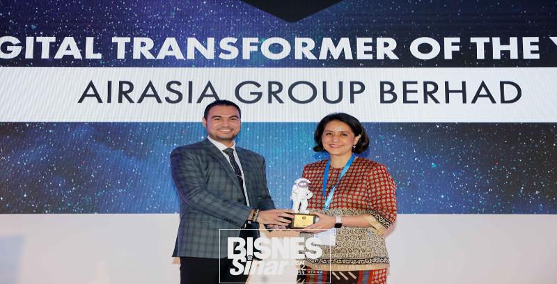 AirAsia raih anugerah utama IDC Digital Transformation 2019