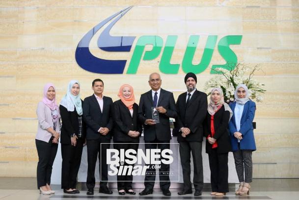 Plus menang anugerah Pasukan Pengurusan Risiko Terbaik