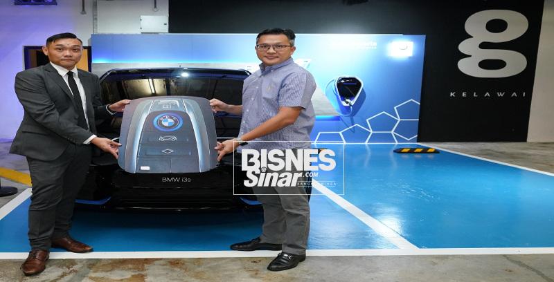 Pelanggan bertuah terima BMW i3s