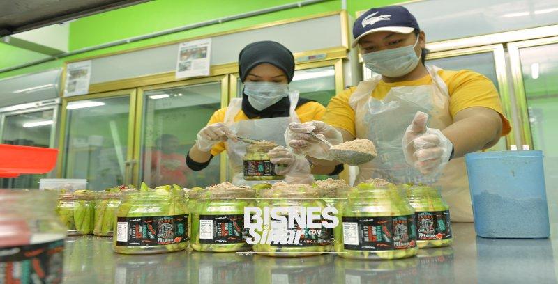 Jual jeruk lumayan, Megat Shaifulreza fokus komersialkan perniagaan ibu