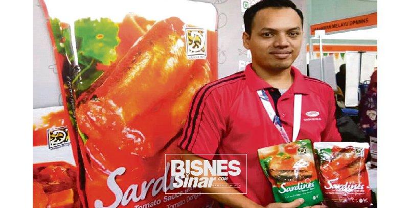 Sardin viral kekal konsep bungkusan 'pouch'