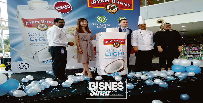 Ayam Brand lancar Santan Super Light