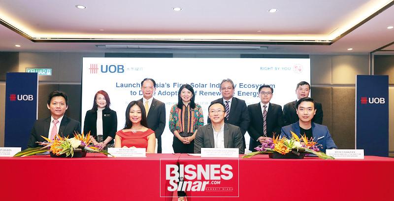 UOB lancar U-Solar pacu penggunaan RE