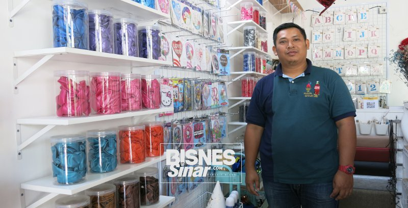 Darul Amri mahu raikan cinta pelanggan di lokasi cinta De' Love Balloon Cafe