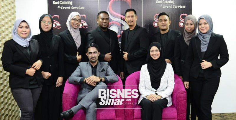 Ahmad Anas, Nurbaiti sepakat ambil risiko jenamakan semula Suri Catering