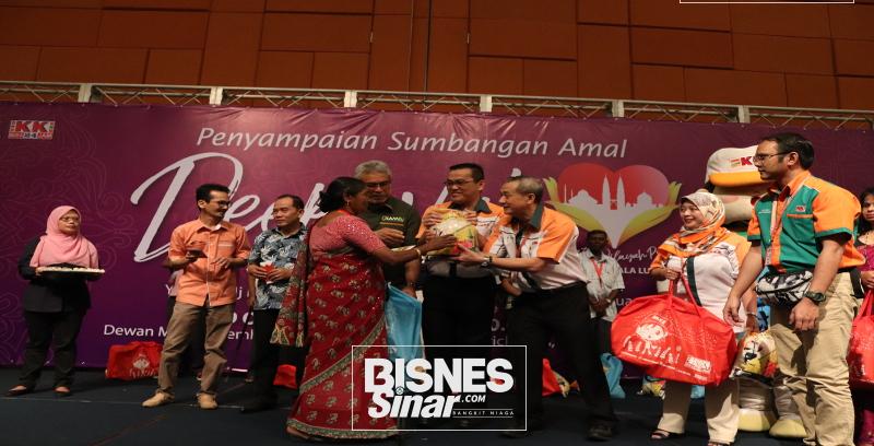 KK Super Mart ringan beban 300 keluarga