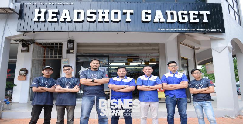Headshot Gadget kebanggaan Nasrullah dan Hanif