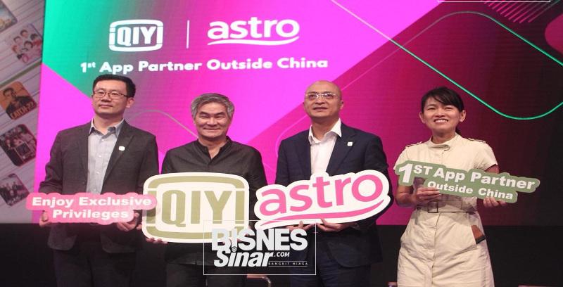 Astro sasar 100,000 pelanggan aplikasi iQIYI