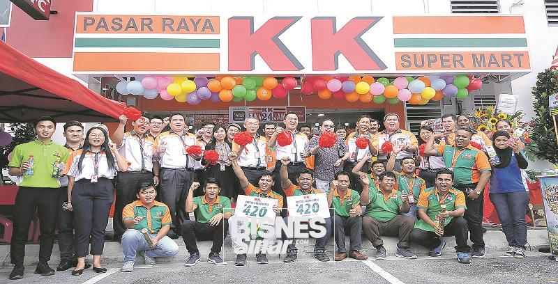 KK Super Mart tawar diskaun 70 peratus