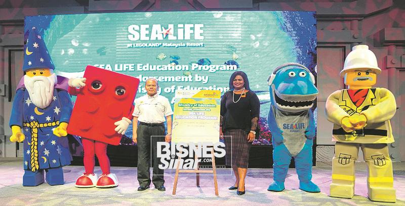 Legoland lancar program Pendidikan Sea Life dengan sokongan KPM