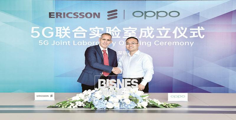 OPPO lancar makmal 5G bersama Ericsson