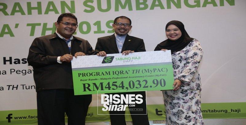 TH sumbang RM5 juta kepada pelajar asnaf
