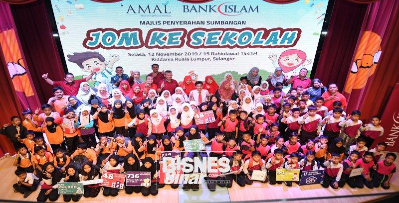 Bank Islam peruntukkan RM312,800 untuk kelengkapan persekolahan