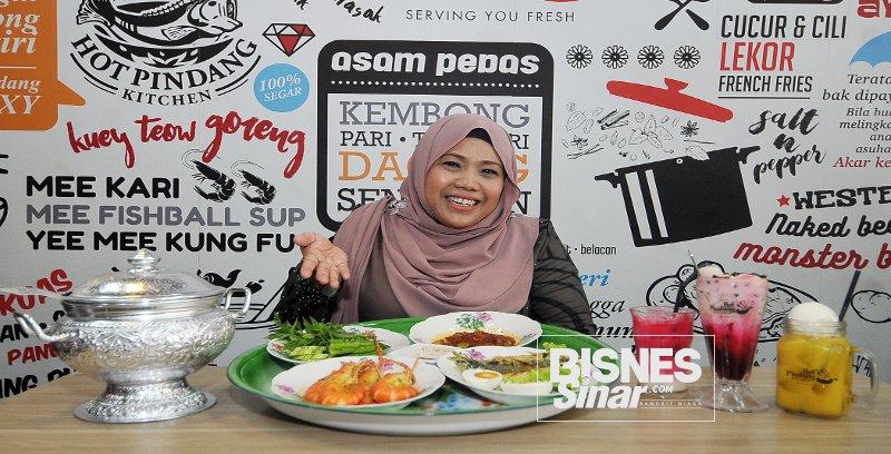 Norhana kongsi susah payah bangunkan jenama Hot Pindang Kitchen