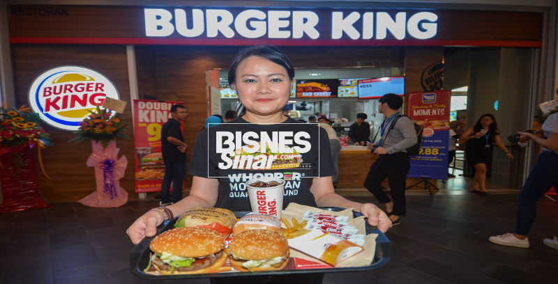 Burger King labur RM65 juta rancang buka 50 cawangan baharu