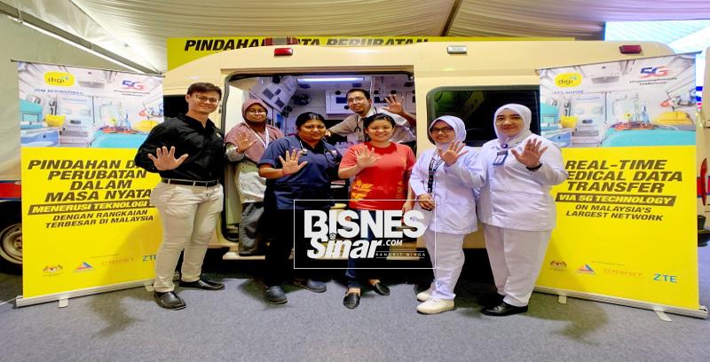 Ambulans 5G pertama Malaysia
