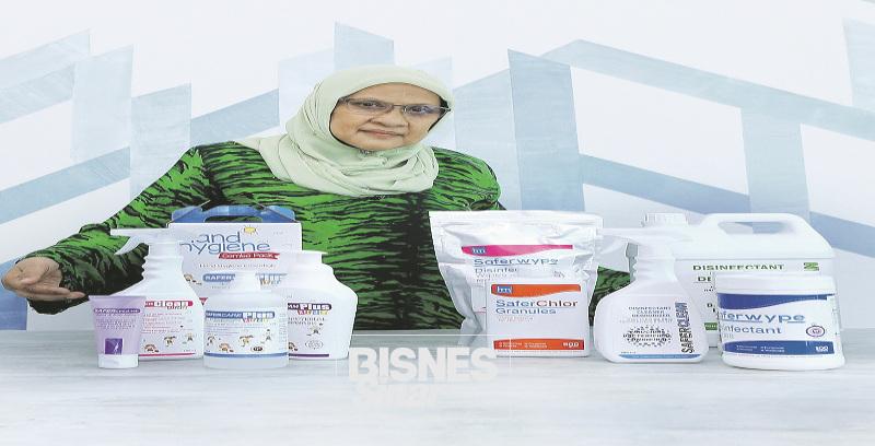Hana Medic pelopor sanitizer halal