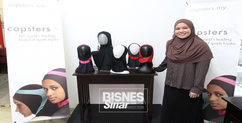 Ambil alih hijab sukan antarabangsa