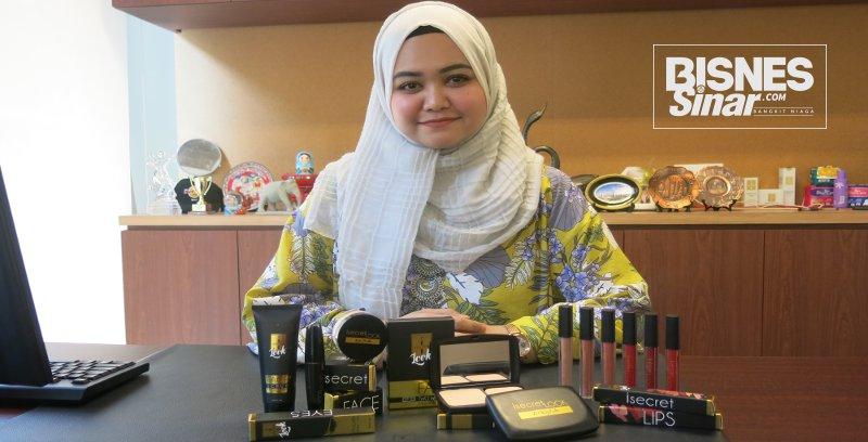 Kosmetik Malaysia yang diiktiraf halal Jakim memiliki potensi pasaran luas di peringkat antarabangsa