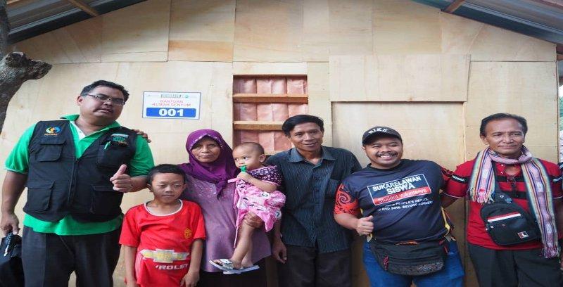 Econsave, MyCARE bantu rakyat Lombok