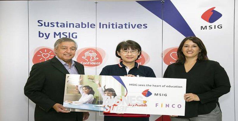 MSIG Malaysia, MyKasih berkolaboratif bantu 130 pelajar