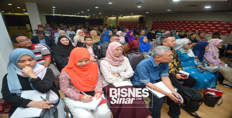 Seminar My Business Drift beri informasi kepada usahawan