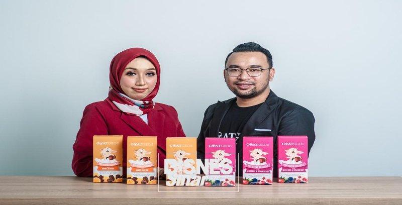 Nur Iliyanie pengusaha minuman susu kambing, buktikan kegagalan lalu bukan halangan berjaya