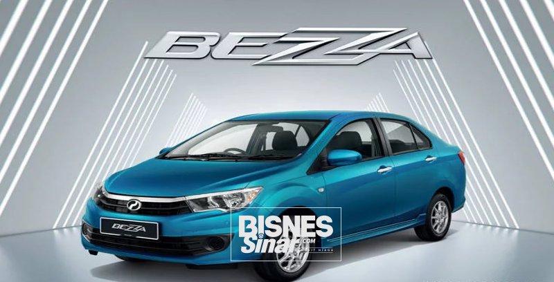 Tempahan Perodua Bezza 2020 dibuka
