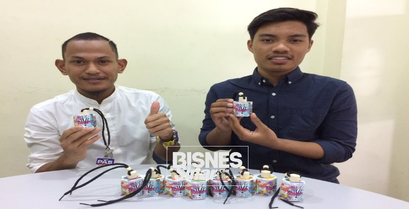 Fazli, Nazif bergabung kepakaran teroka pasaran tempatan produk wangian kenderaan