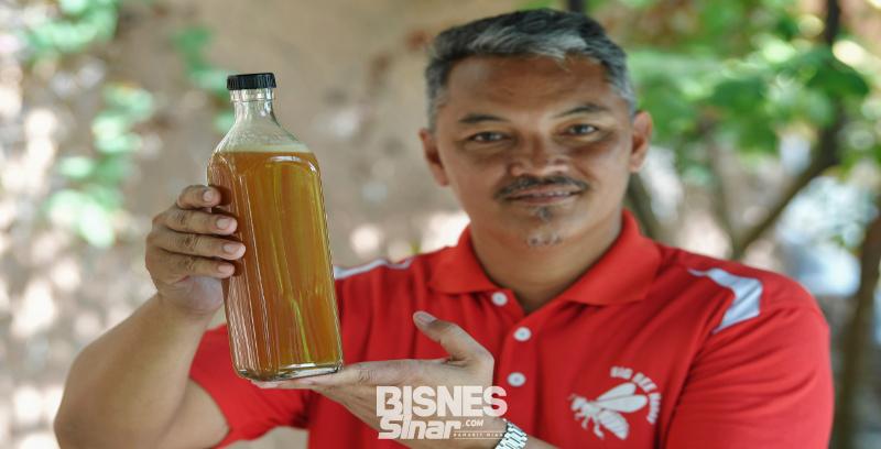Minat bawa Nor Ehsan usaha ternakan madu kelulut secara komersial