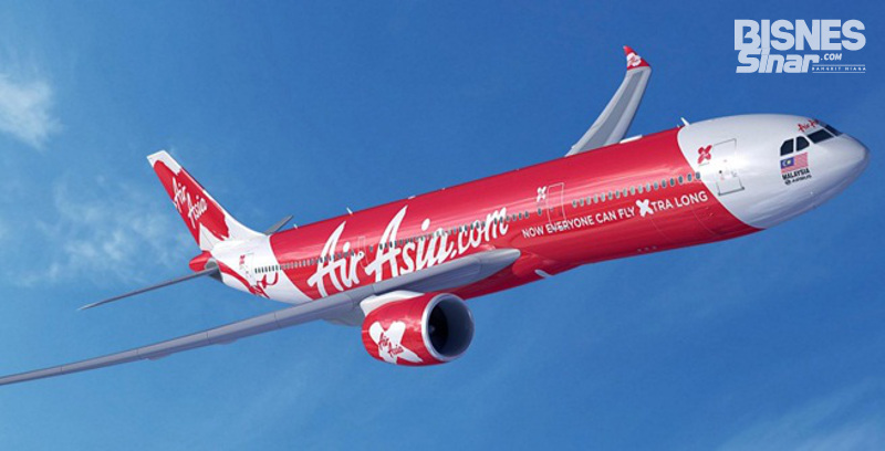 AirAsia X tawar tempat duduk promosi 1 juta
