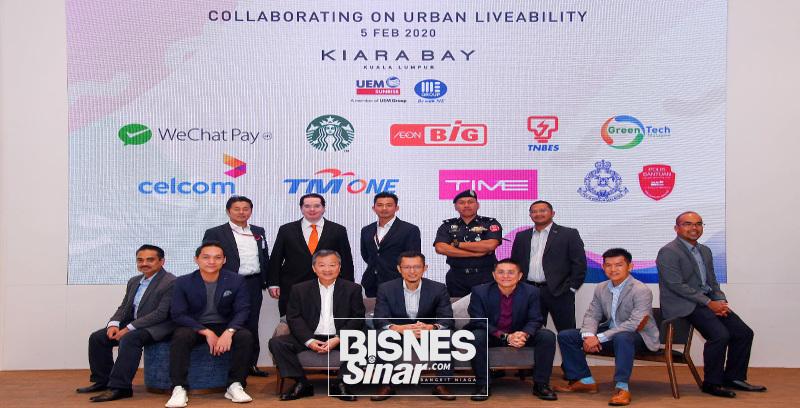 UEM kukuhkan konsep ekosistem 'urban liveability'