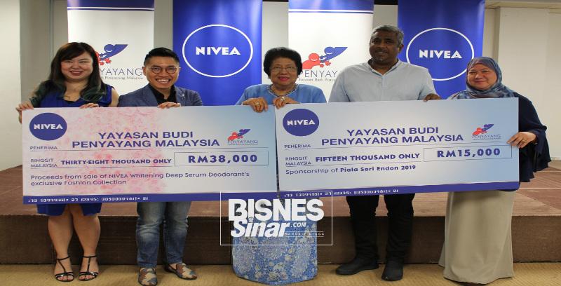 Nivea sumbang RM53,000 kepada Penyayang