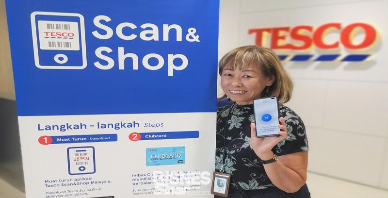 Tesco mudahkan pelanggan dengan Scan & Shop
