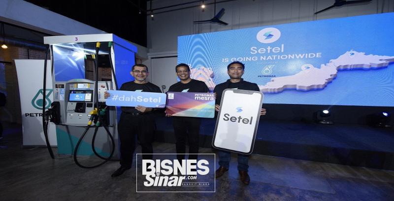 Setel boleh diakses di 700 stesen minyak Petronas