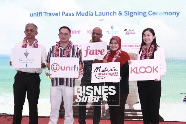Unifi perkenal sim pasca bayar unifi Travel Pass kepada pelancong asing