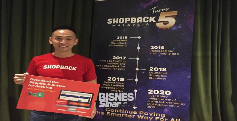 ShopBack Malaysia catat pertumbuhan 200 peratus pada 2019